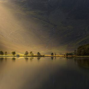 Nature's Torchlight, Buttermere, Lake District,