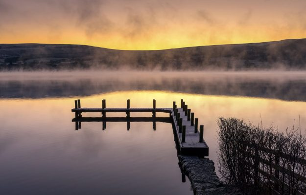 Misty Dawn, Ullswater Jetty, Lake District