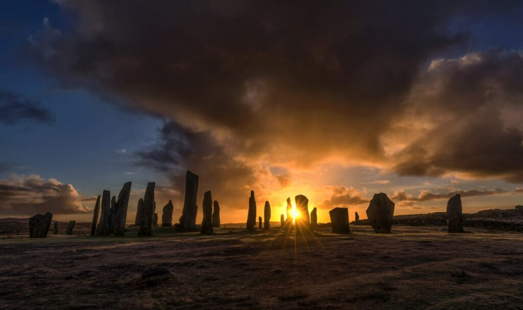 Sunrise, Callanish Standing Stones, Isle of Lewis, Outer Hebrides
