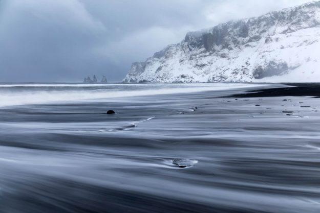 Reynisdrangar Sea Stacks, Black Beach, Vik, Iceland