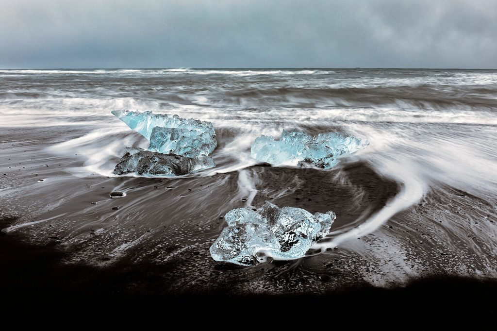 Jökulsárlón, Diamond Ice Beach, Iceland