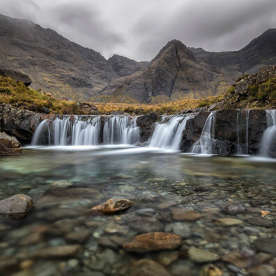 The Magical Fairy Pools, Glen Brittle, Isle of Skye, Scotland