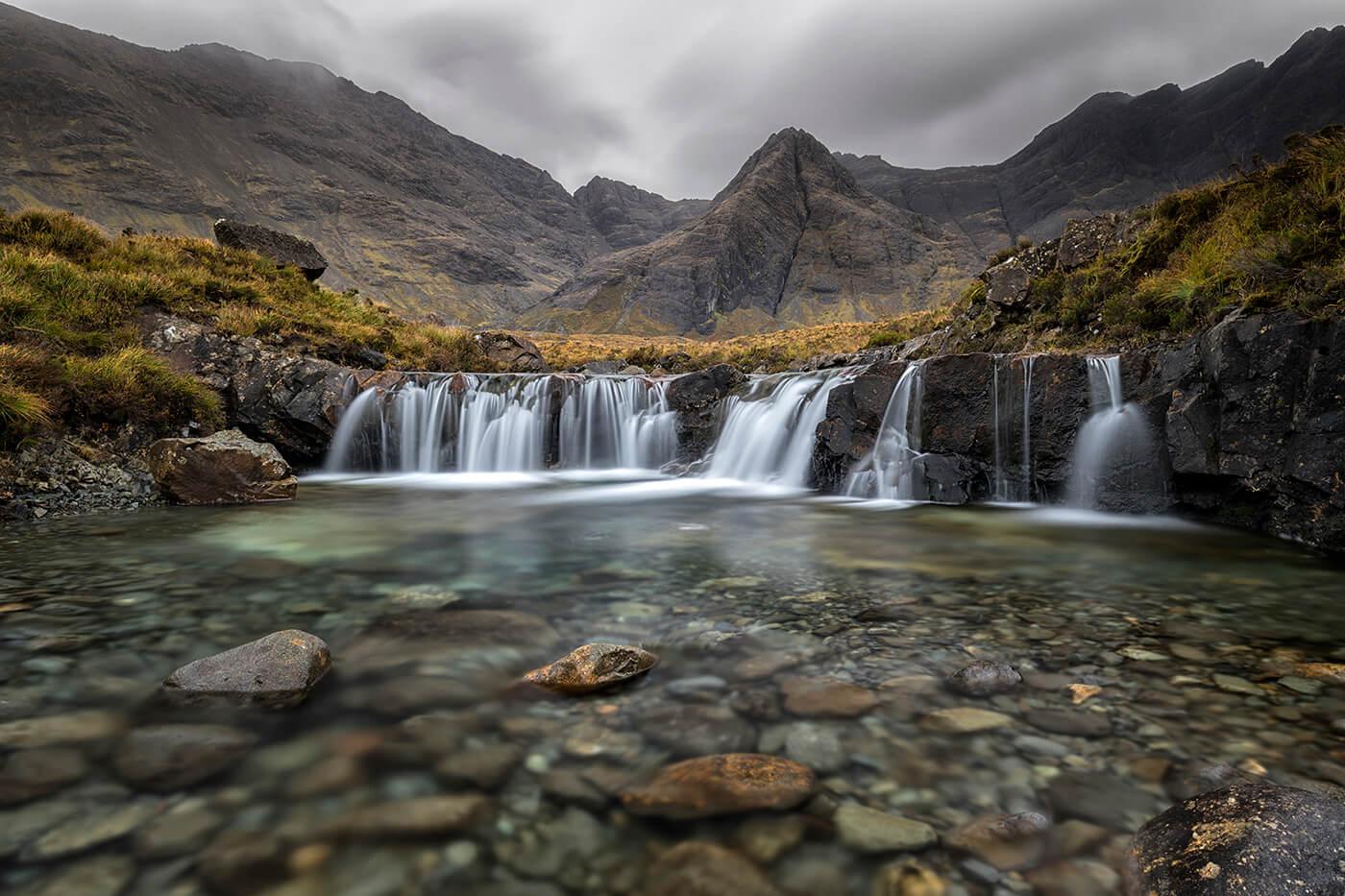 The Magical Fairy Pools, Glen Brittle, Isle of Skye, Scotland