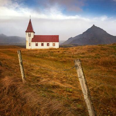 Hellnar Church, Snaefellsnes Peninsula, Iceland