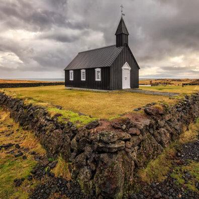 Búðir Church, Snæfellsnes Peninsula, Iceland