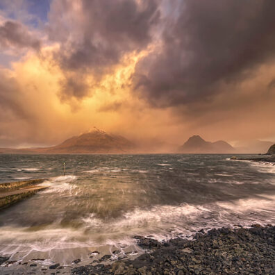 Fiery Elgol, Isle of Skye, Scotland