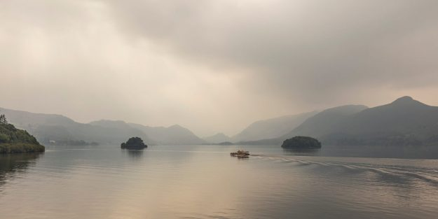 Ethereal Light, Friars Crag, Derwentwater, Lake District