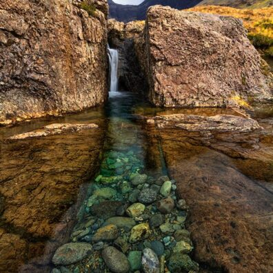 Washing Machine Falls, Glen Brittle, Isle of Skye, Scotland