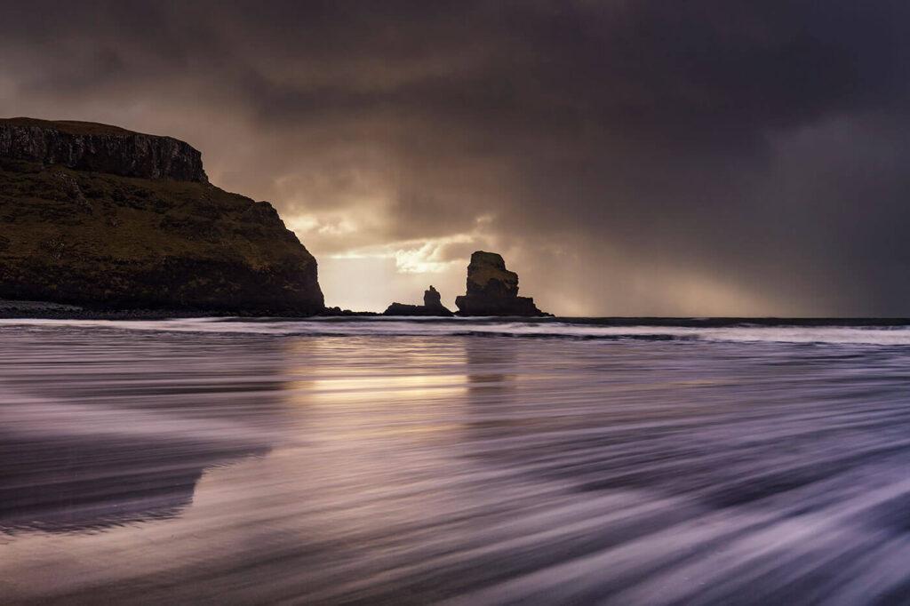Sea Stack, Talisker Bay, Skye