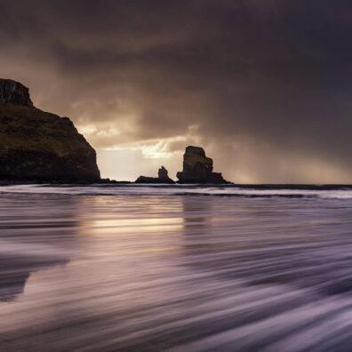 Stormy Skies, Talisker Bay, Skye