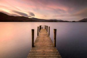 Ashness Landing Pier, Derwentwater, Keswick, Lake District