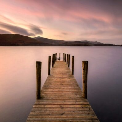 Ashness Landing Pier, Derwentwater, Keswick, Lake District