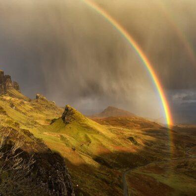 Double Rainbow, Quiraing, Skye