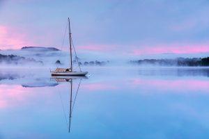Misty Sunrise, Windermere, Lake District