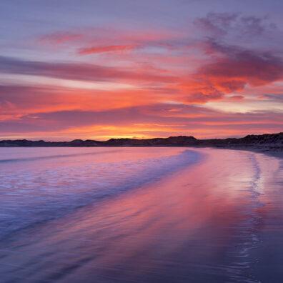 Sunset, Beadnell, Northumberland