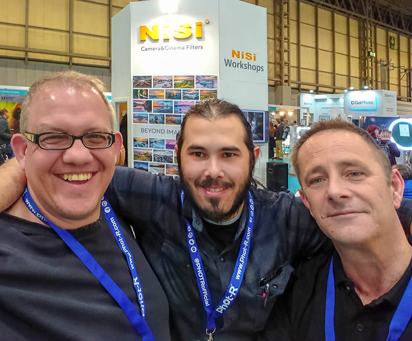 Melvin Nicholson, Phil Norton, Alessio Putzu, Nisi Filters, The Photography Show, NEC, Birmingham