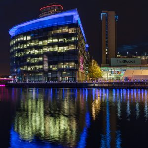 BBC Studios, Media City, Salford Quays,, manchester