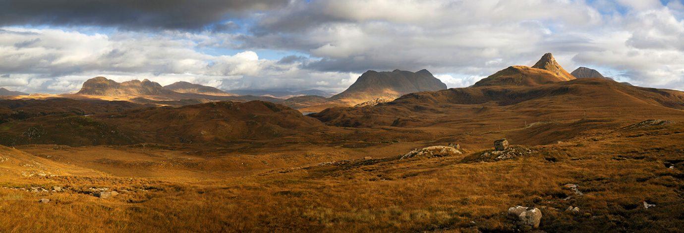 Suilven, Cùl Mòr and Stac Pollaidh, Assynt, Scotland