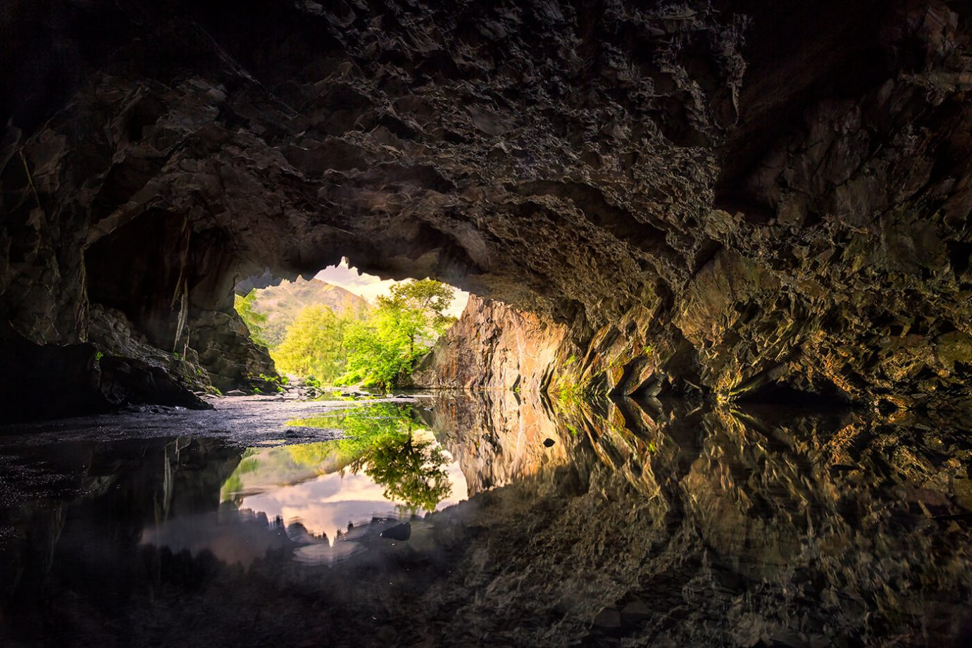 Rydal Cave, Lake District