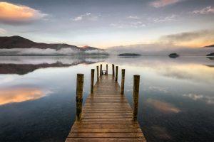 Ashness Landing Pier, Derwentwater, Lake District
