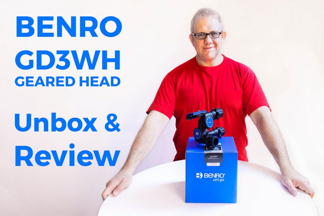 Benro GD3WH Geared Head - Unbox & Review