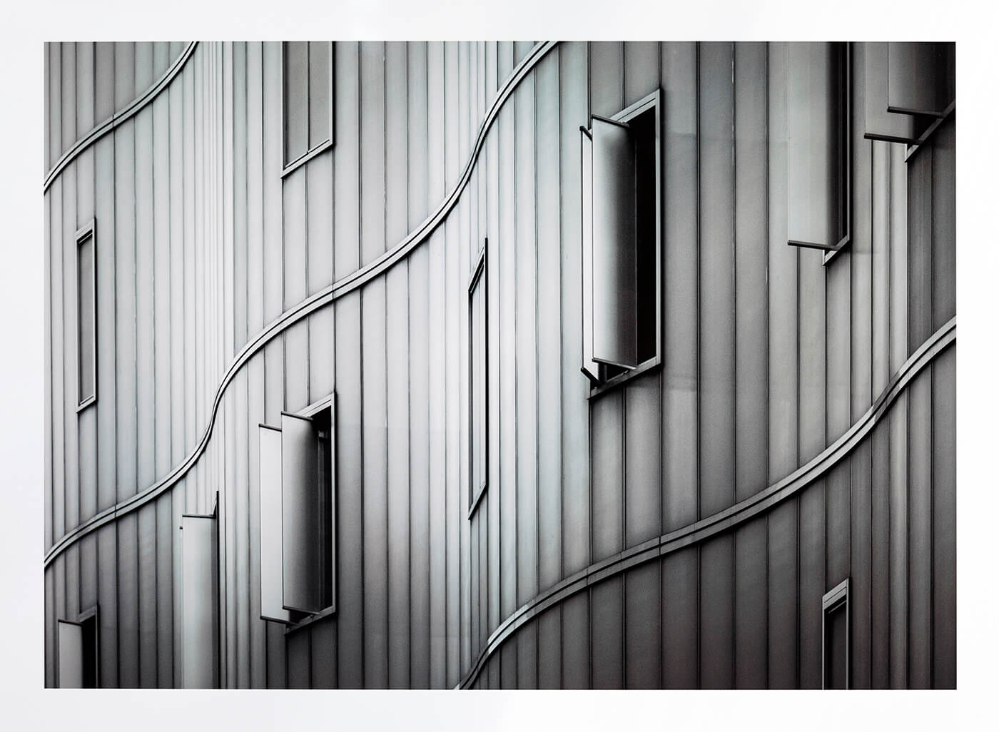 Mark Cornick's Urban View Category Winning Image 'Architectural Detail, London, England'