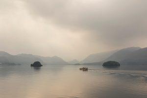 Misty Morning, Derwentwater, Lake District