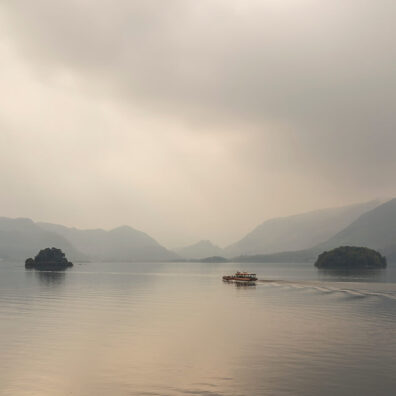 Misty Morning, Derwentwater, Lake District