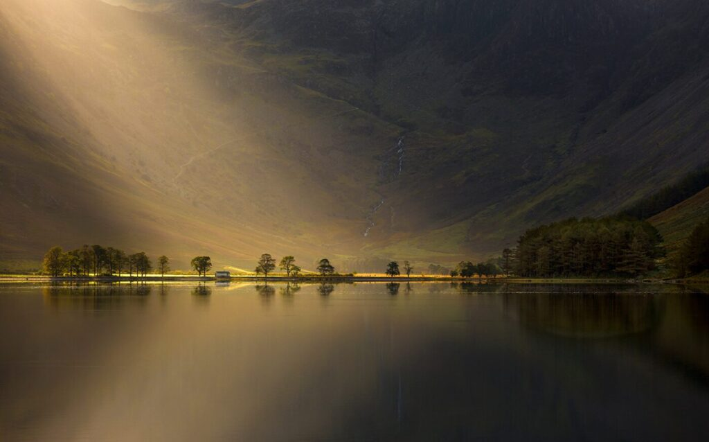 Nature's Torchlight, Buttermere, Cumbria - 'Commended' 'Classic View Category - Take-a-View Landscape Photographer of the Year 2017-18