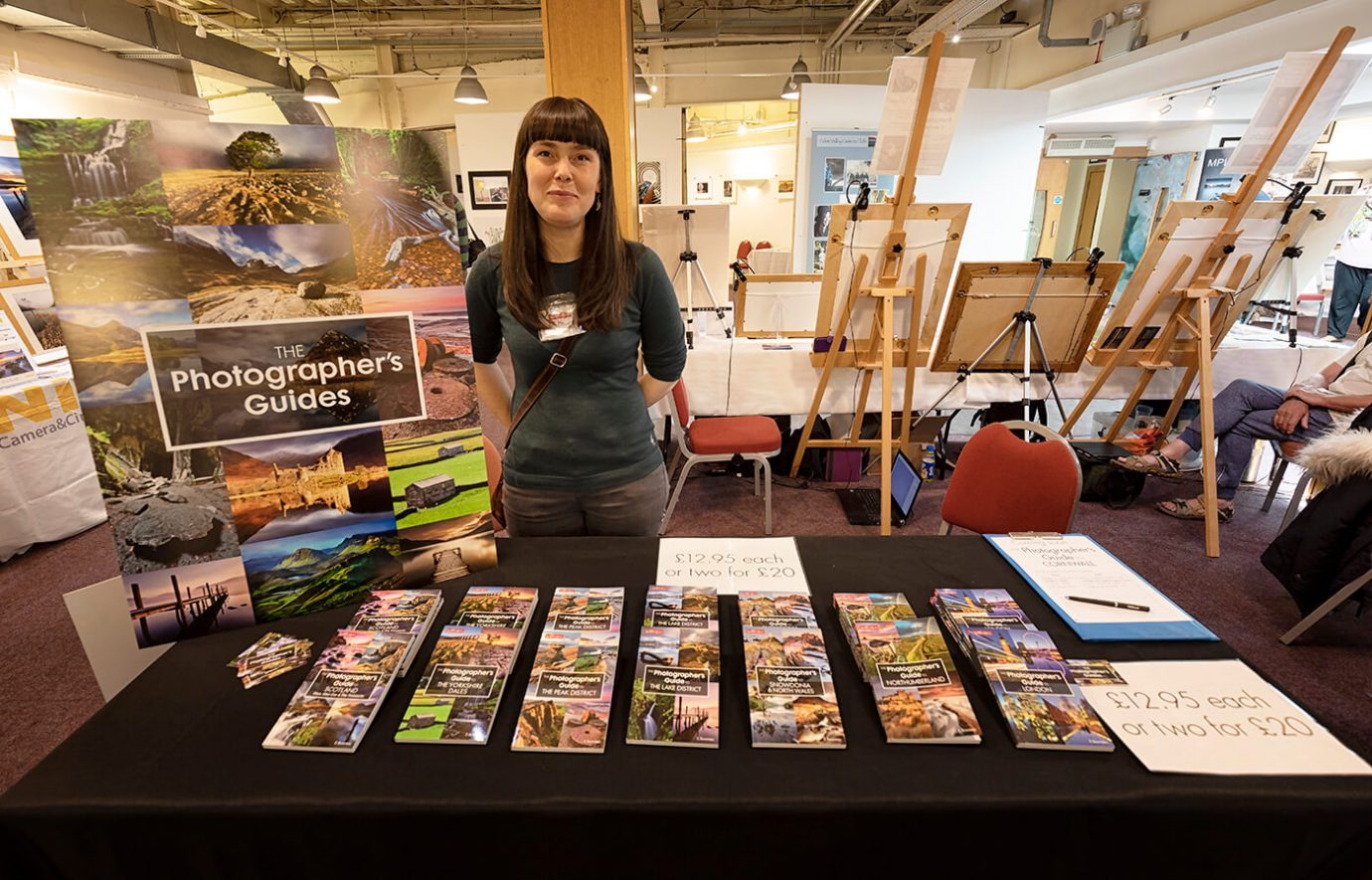 Ellen Bowness of Long Valley Books - The Northern Photography and Video Show 2018
