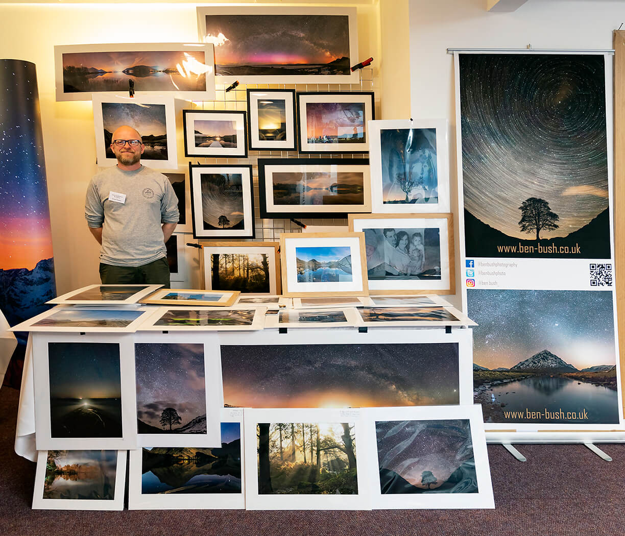 Ben Bush Photography - The Northern Photography and Video Show 2018