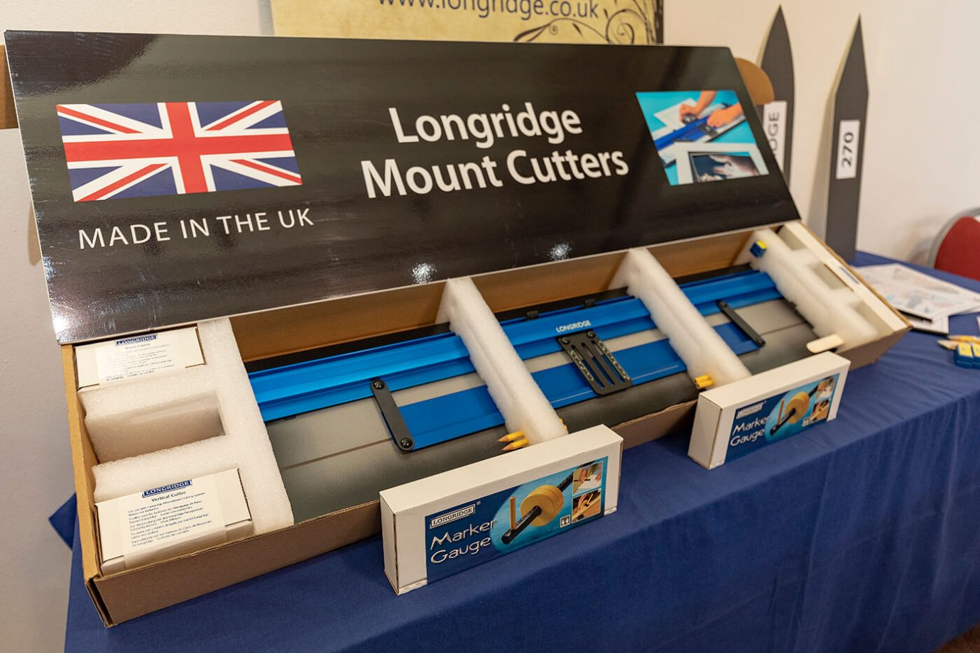 Longridge Mount Cutters - The Northern Photography and Video Show 2018