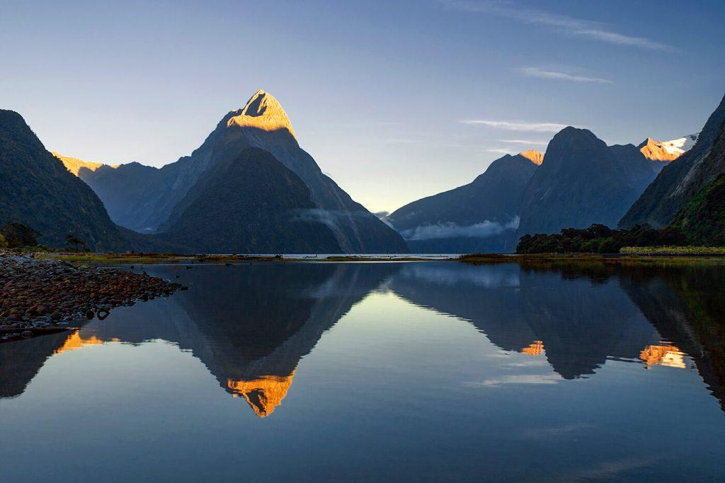 Mitre Peak, Milford Sound, South Island, New Zealand Landscape Photography Workshops/Tours, Melvin Nicholson Photography
