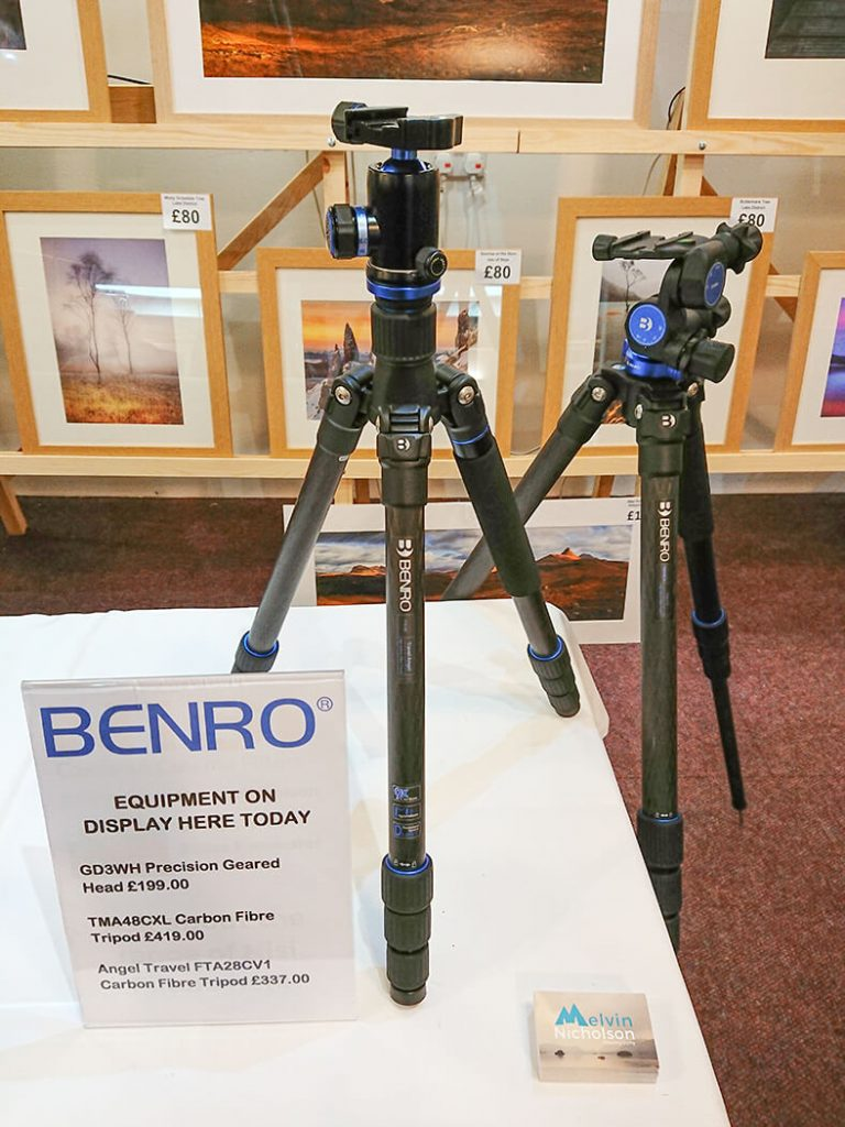 Melvin Nicholson - Long Term Tester of Benro Tripods - The Northern Photography and Video Show 2018