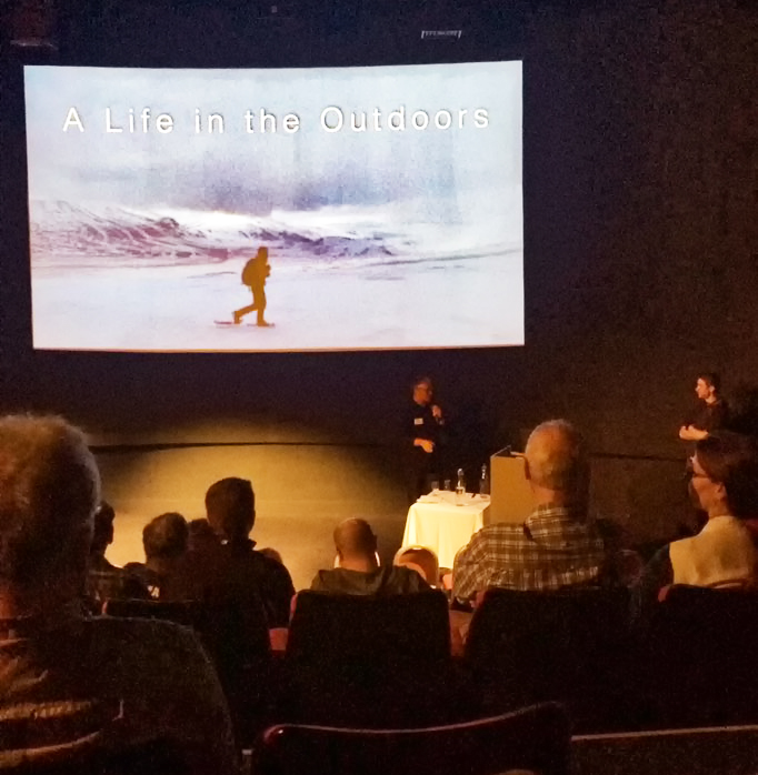 Thomas Heaton - The Northern Photography and Video Show 2018. Image courtesy of Louise Thompson