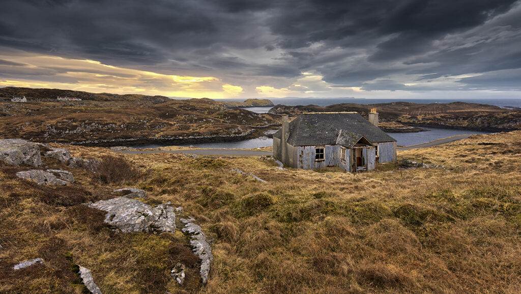 Abandoned Croft, Scalpay, Isle of Harris, Outer Hebrides