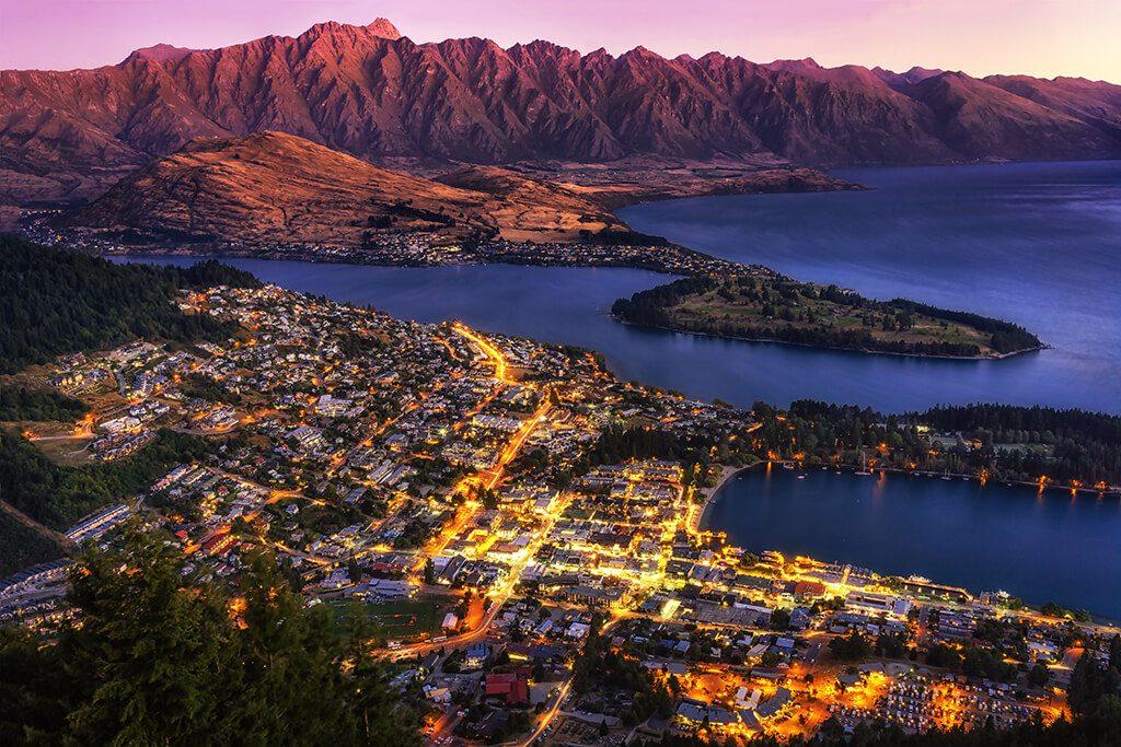 Queenstown, New Zealand - Adobe Stock Image
