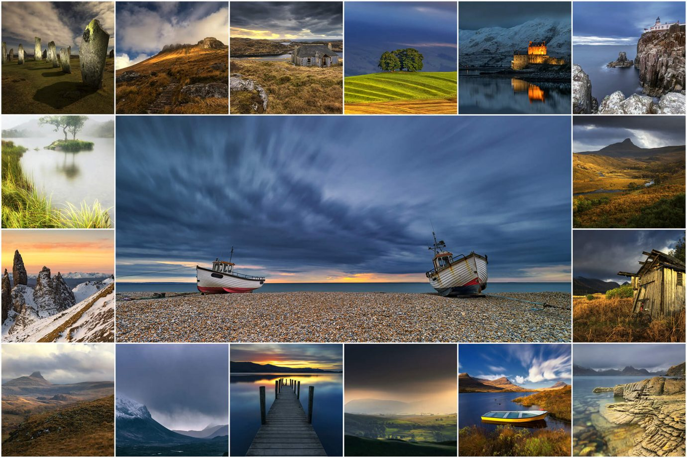 My 25 images entered into the 2018 Take-a-View Landscape Photographer of the Year Competition