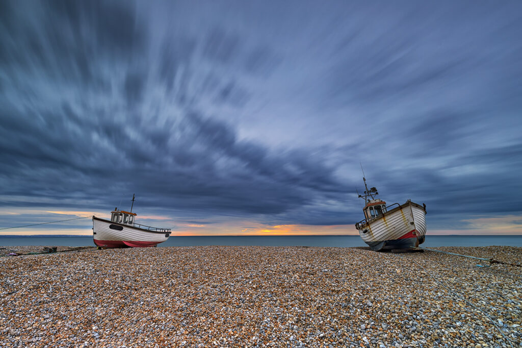Left High and Dry, Dungeness, Kent