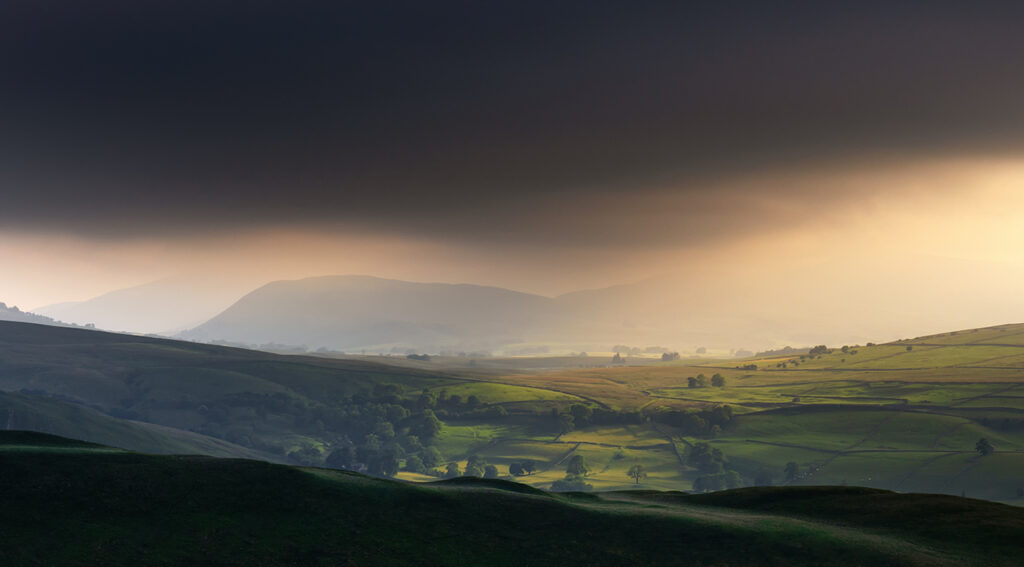 Light And Dark, Birkett Knott, Yorkshire Dales