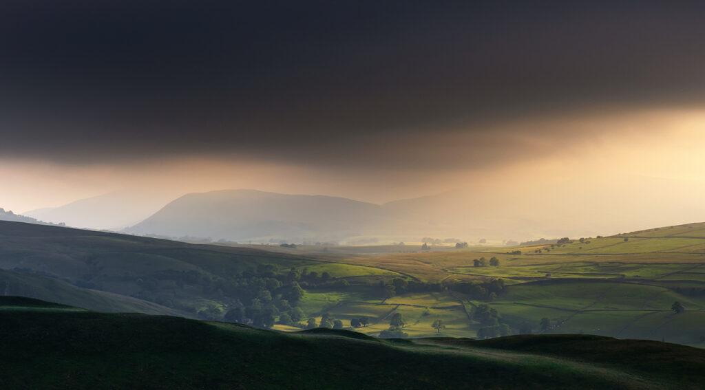 Light And Dark, Birkett Knott, Yorkshire Dales