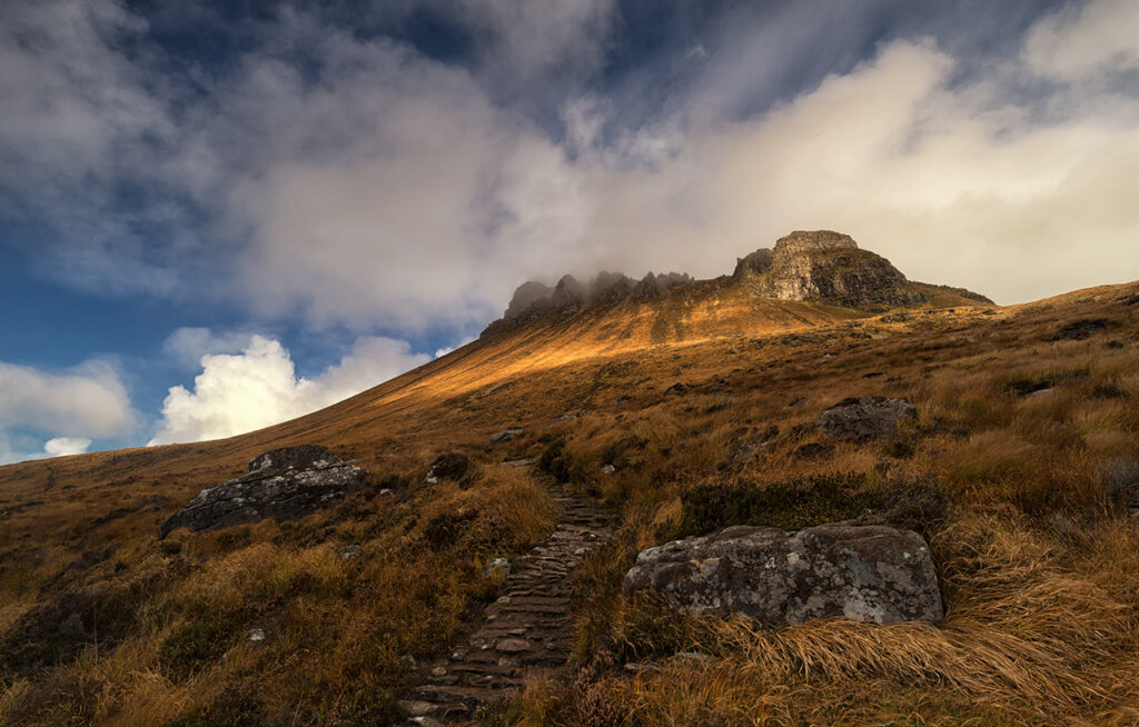 Storm's Rolling In, Stac Pollaidh, Scotland