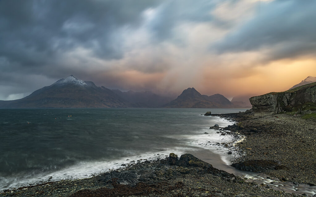 Stormy Skies, Elgol, Isle of Skye