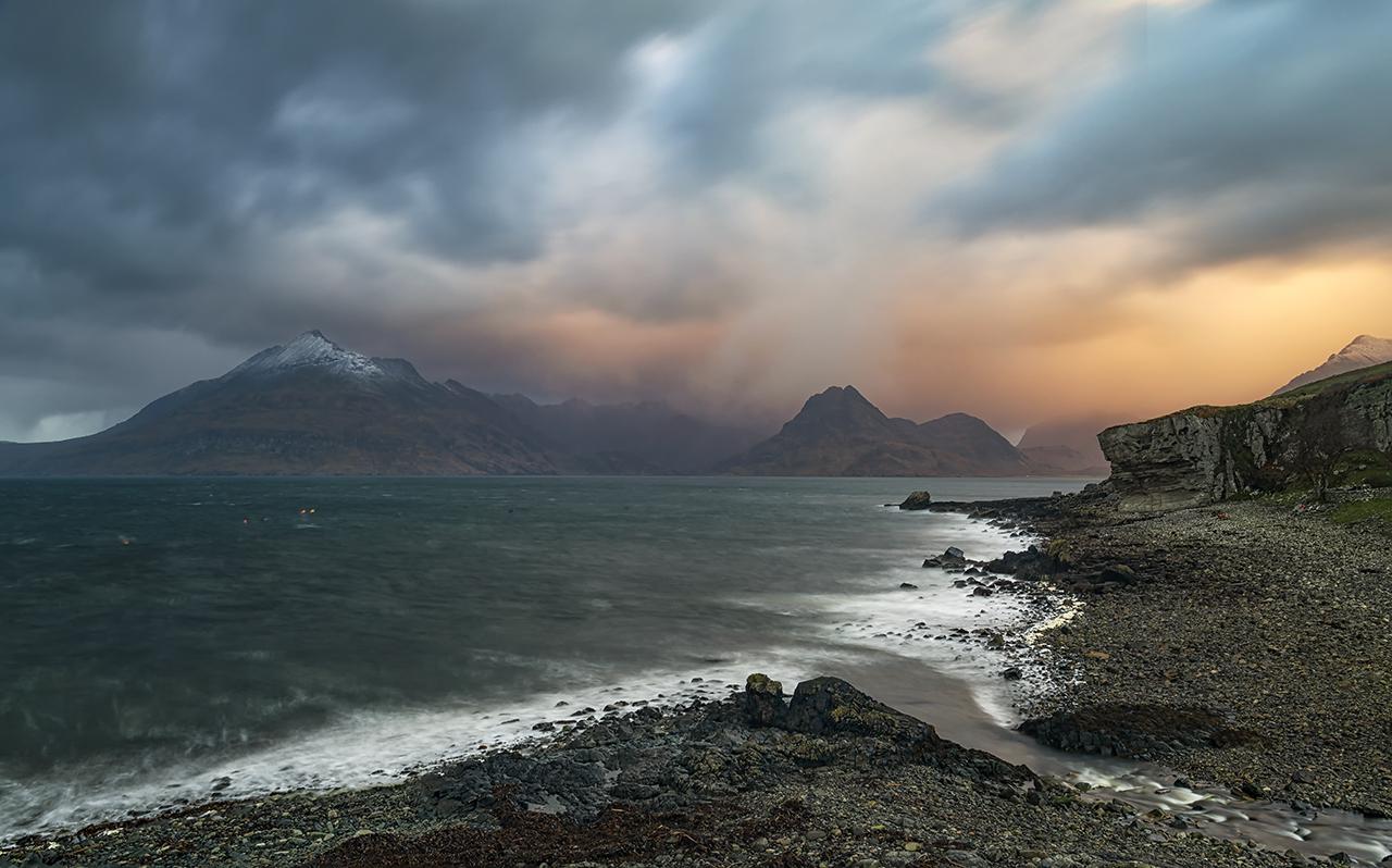 Stormy Skies, Elgol, Isle of Skye