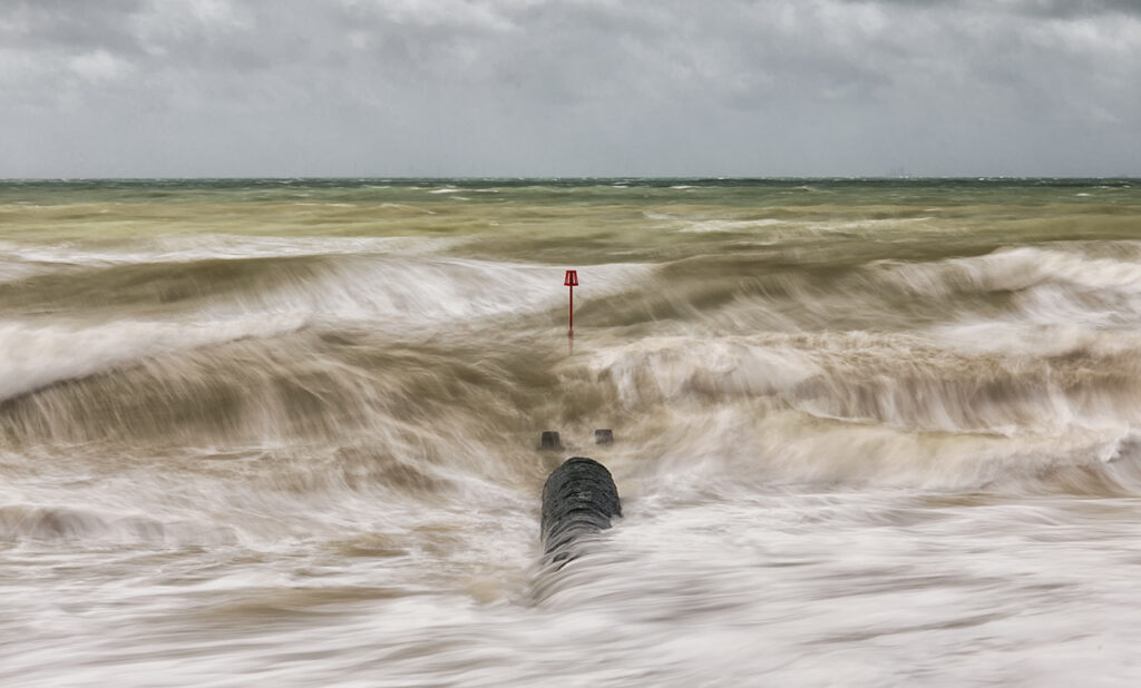Waste Pipe And Wild Waters, Shoreham, Sussex