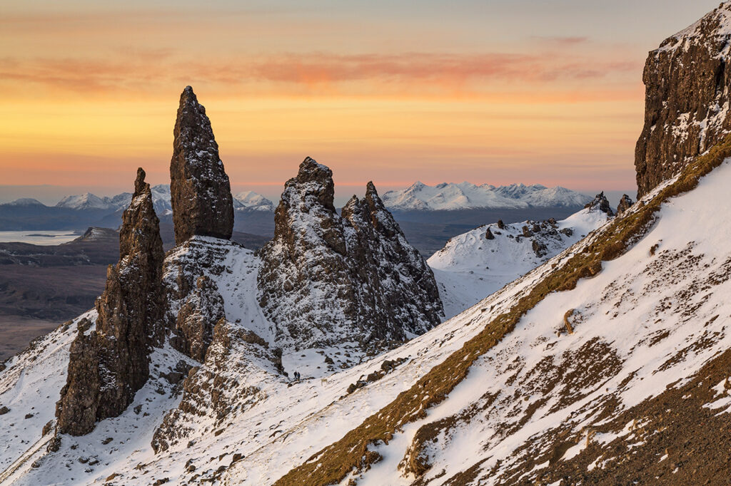 Winter Warmth, Old Man of Storr, Isle of Skye