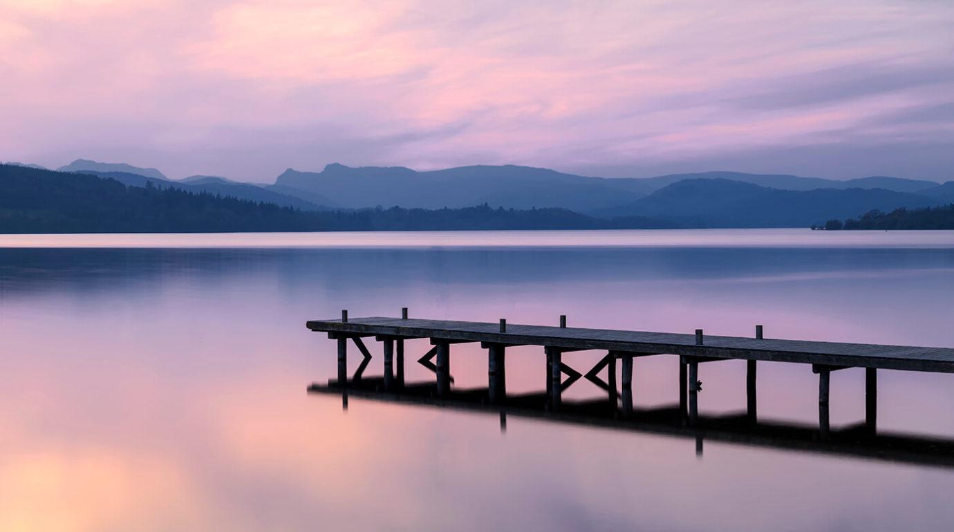 Sunset, Millerground, Windermere, Lake District
