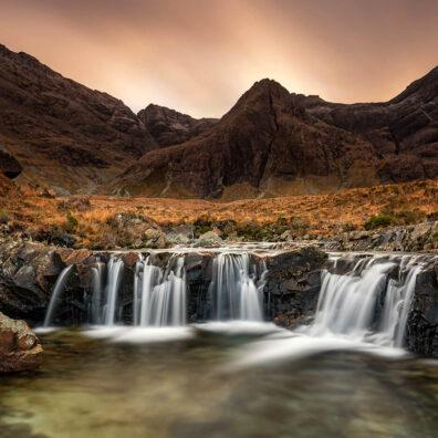 Fairy Pools, Glen Brittle River, Skye