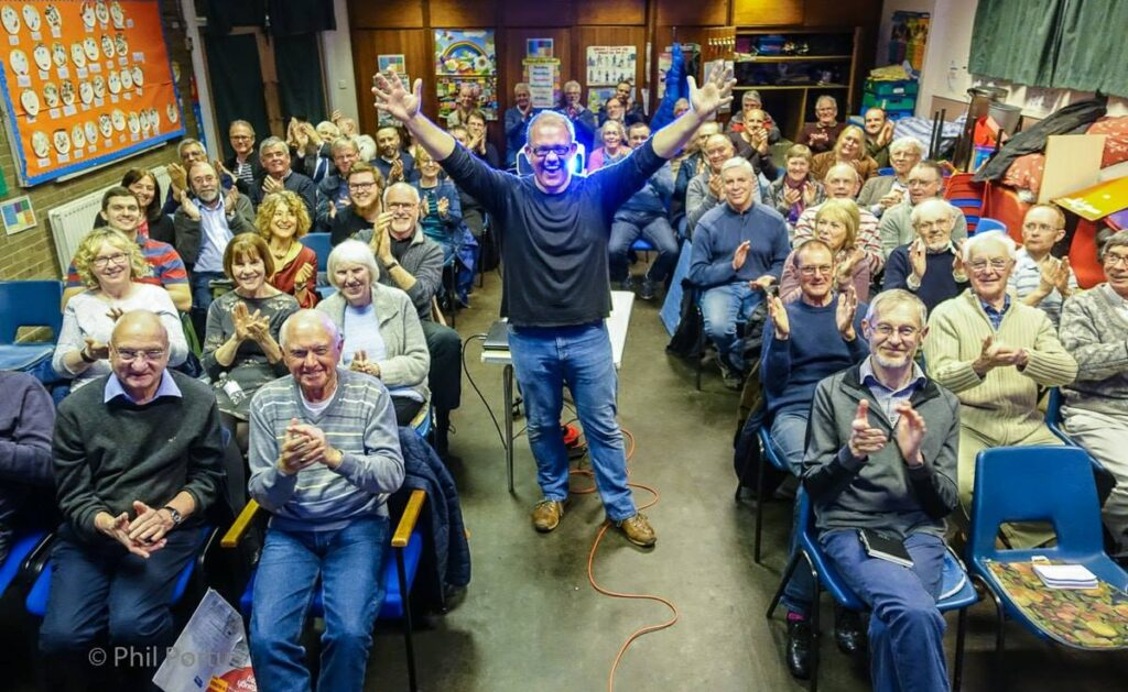 Evening Lecture at Rochdale Camera Club - May 2018