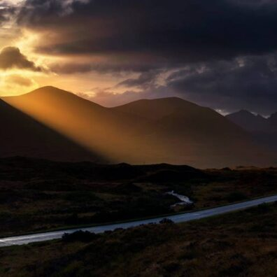 Sunrise nr Sligachan, Isle of Skye